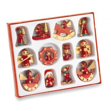 12 božičnih okraskov
