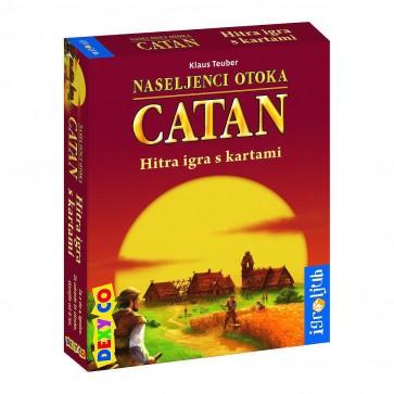 Družabna igra, Naseljenci otoka Catan hitra igra s kartami