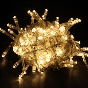 Božična svetlobna veriga - toplo bela - LED