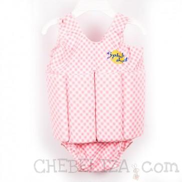 Splash ABout, otroška plavalna obleka Float Suit - roza