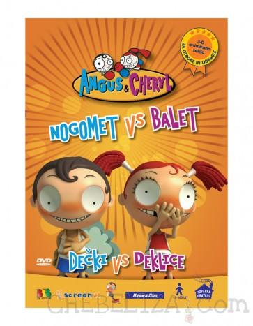 Angus & Cheryl - Nogomet vs. Balet