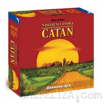 Družabna igra, Naseljenci otoka Catan (osnovna igra)