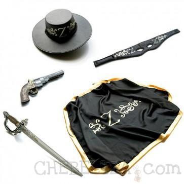 LionTouch, Otroški kostum Z Bandit - Zorro