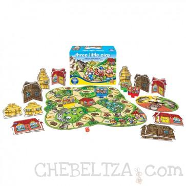 Orchard Toys, Družabna igra, Trije Prašički