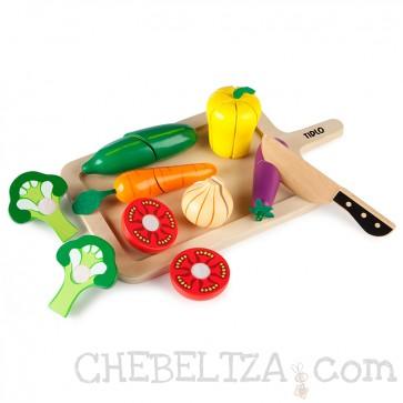 Tidlo, Komplet zelenjave za razrezovanje