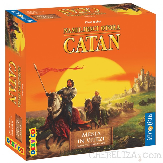 Mesta in vitezi, dodatek za igro Catan