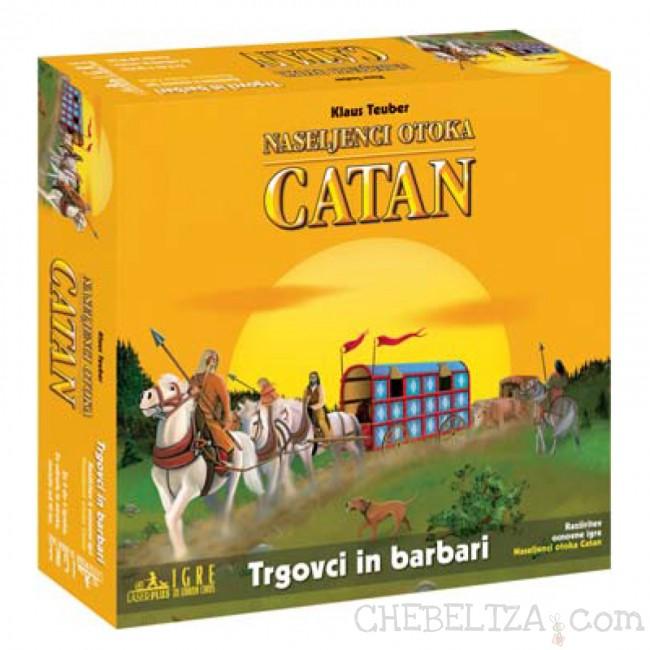Trgovci in barabari, dodatek za igro Catan