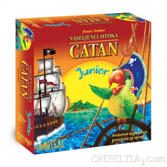 Družabna igra Naseljenci otoka Catan za najmlajše