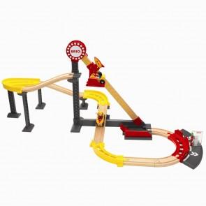 Lesena železnica BRIO, Zabaviščni park z vlakcem smrti