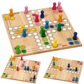 Goki, Družabna igra, Človek ne jezi se za 2, 3 ali 4 igralce