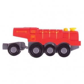 BigJigs, Velika električna lokomotiva - Rdeča