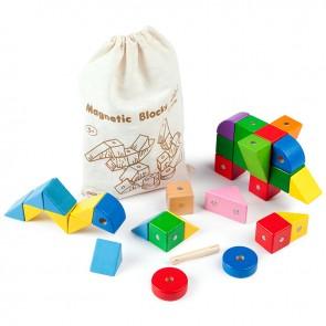 GoGo Toys, Živobravne lesene magnetne kocke