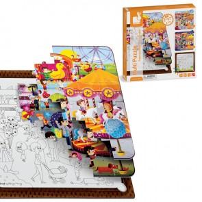 Janod, MultiPuzzle - Zabaviščni Park