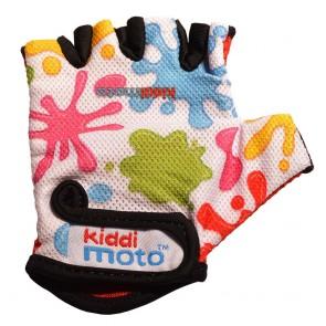 Otroške kolesarske rokavice s packami
