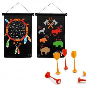 Scratch, Otroški magnetni pikado - Indijanci