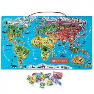 Janod, Magnetni zemljevid sveta