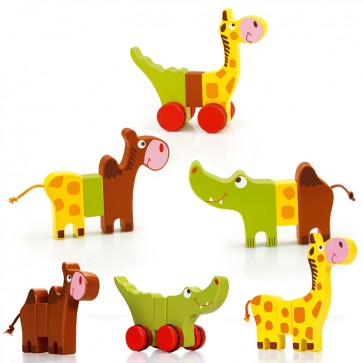 Scratch, Zabavne magnetne živalice s kolesi
