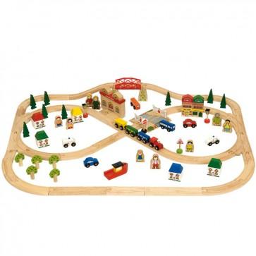 Leseni vlakci - Primestni vlak
