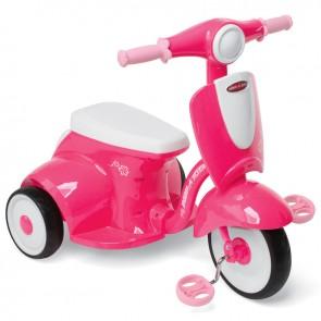 Ružičasti zvučni tricikl