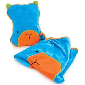 Dječji jastuk sa dekom SnooziHedz - plavi