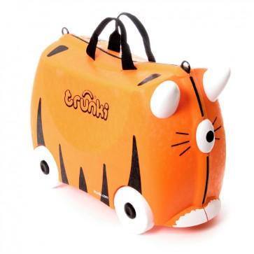 Trunki, Otroški kovček na kolesih Tipu Tiger