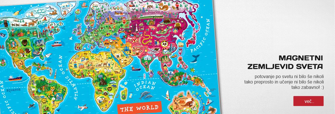 Lesen zemljevid sveta