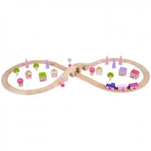 Lesena železnica, Pravljični vlakec v obliki št. 8