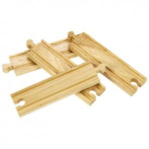 Ravne tračnice za lesene železniške proge (14 cm)