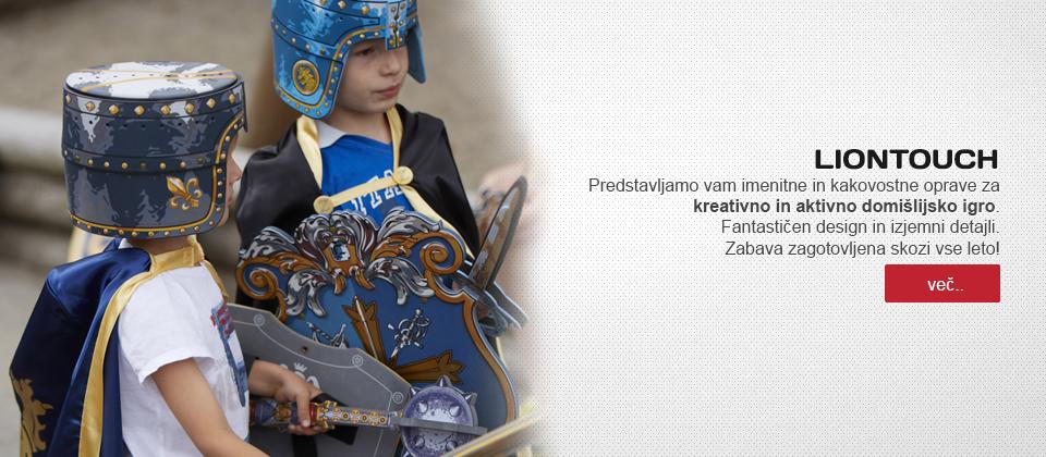 otroška trgovina chebeltza.com/Otroški pustni kostumi LionTouch