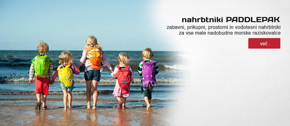 otroška trgovina chebeltza.com/lahki, vodoodporni otroški nahrbtniki PaddlePak