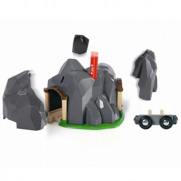 BRIO dodatki za lesene vlakce, Eksplozivni tunel