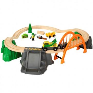 Lesena železnica Brio, Gozdarski vlak
