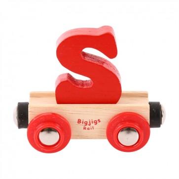 BigJigs, Vagonček s črko S