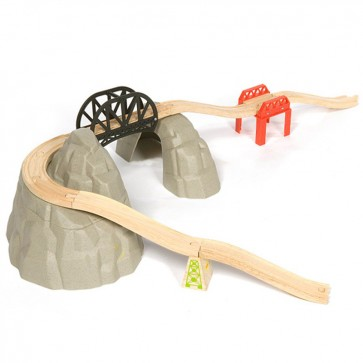 Dodatki za lesene vlakce, Gorski set