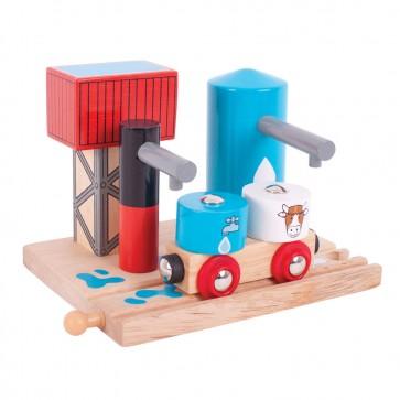 BigJigs, Dodatek za lesene vlakce, Postaja za vodo in mleko