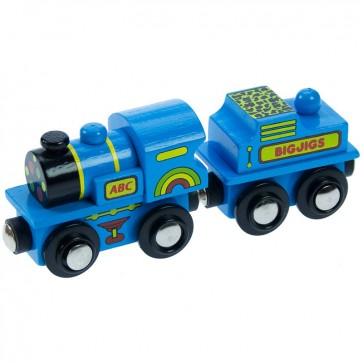 "Modra ""ABC"" lokomotiva"
