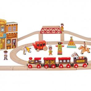 Lesena železnica, Story Express - Divji zahod