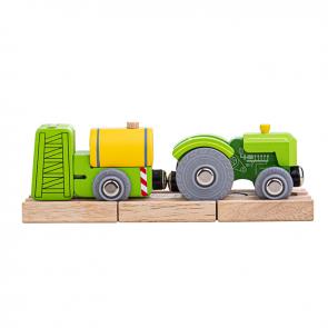 BigJigs, Dodatki za lesene vlakce, Traktor s škropilnico