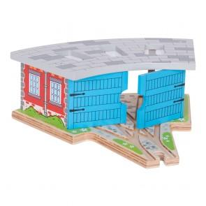 BigJigs, Mala garaža za lokomotive