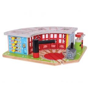 BigJigs, Velika garaža za lokomotive