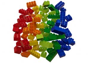 Komplet barvnih kock (120-delni)
