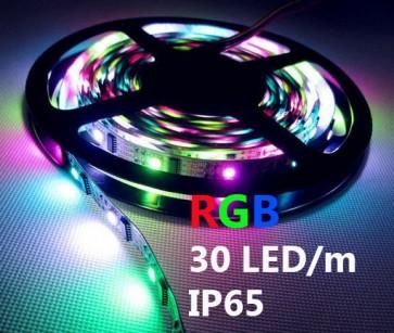 LED trak RGB, 5m, 30LED/m, IP65