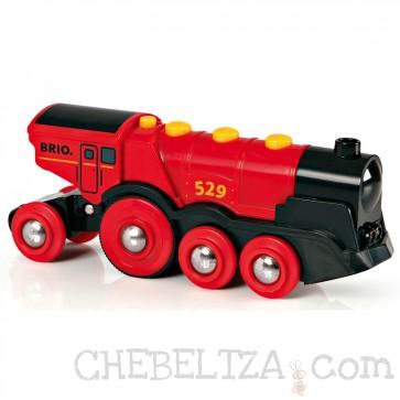 Brio, Velika rdeča električna lokomotiva