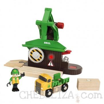 BRIO dodatki za lesene vlakce, Žaga