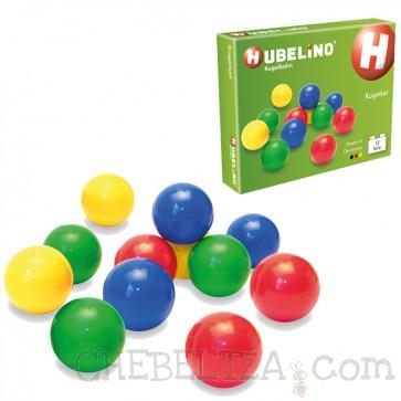 Hubelino, Komplet 12 kroglic