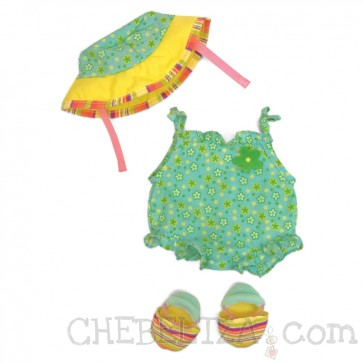 Baby Stella, Obleka za na plažo za mehkega dojenčka