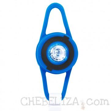 Globber, Silikonska LED lucka za kolo, skiro ali poganjalec
