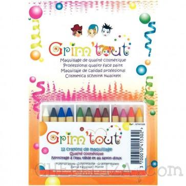 Grim'Tout, Barve za poslikavo na vodni osnovi - Voščenke