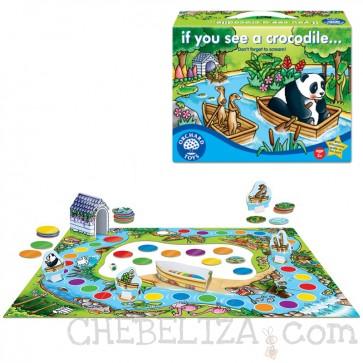 Orchard Toys, Družabna igra, Če zagledaš krokodila