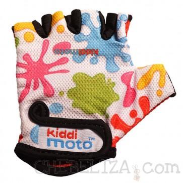 Otroške kolesarske rokavice s packami (M)